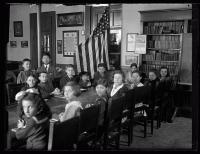 Americanization class, Boys Club, Portland