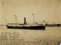 The Steamer St. Croix, Portland Company, ca. 1895