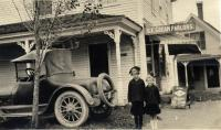 Strout House and Ice Cream Parlor, South Harpswell, ca. 1921