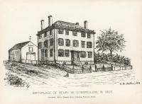 Birthplace of Henry Wadsworth Longfellow, 1896