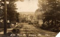 Summer on North Main Street, Caribou, ca. 1910