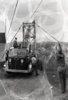 WPA work on Swinging Bridge, Brunswick, 1936