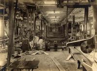 Portland Company car shop, ca. 1900