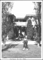 Patio, Nevin estate, Blue Hill, 1937