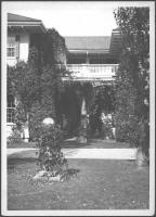 Patio entrance, Ethelbert Nevin home, Blue Hill, 1937
