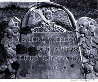 Samuel Wheelwright, 1700, Wells, 1965