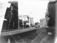 Trolley on Middle Street, Portland, ca. 1900
