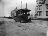Trolley, Morning Street, Portland, c.a 1900