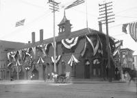 Central Fire Station, Portland, 1898