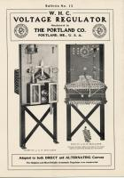 W.H.C. Automatic Voltage Regulators, Portland Company, ca. 1904