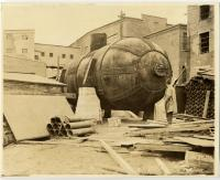 Steam Accumulator, Portland Company-built, Piercefield, N.Y., c. 1900