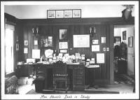 Interior, Ethelbert Nevin estate, Blue Hill, 1937