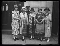 Alabama business women, Portland, 1925