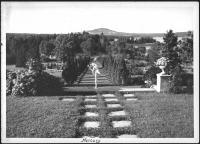 Garden, Ethelbert Nevin estate, Blue Hill, 1937