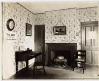 Summer dining room, Wadsworth-Longfellow House, Portland, ca. 1902