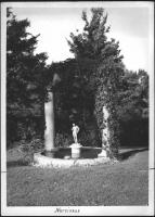 Statue, Ethelbert Nevin estate, Blue Hill, 1937