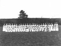 Women at Brownville Centennial Pageant Grounds, 1924