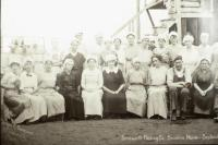 Women workers at Farnsworth Fish Cannery, Brooklin, 1920