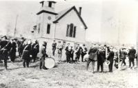Stockholm Band at Lutheran Church, ca. 1900