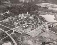 Aerial view, Colby College, 1959