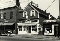 Houle's Pharmacy, Forest Avenue, Portland, 1954