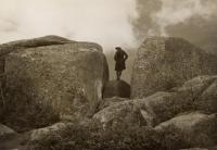 Emmie Bailey Whitney at Katahdin, ca. 1930s