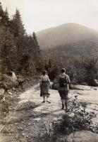 Walking in to Daicy Pond, 1931