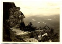 Hunt Trail on Katahdin, looking toward Kidney Pond, 1931