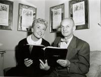 Howard Cail and Doris Day,  ca. 1950