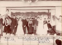 High School play, Caribou, 1902