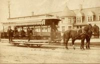 Union Station Horse Trolley, Portland, ca. 1892