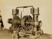 Steam powered windlass, Portland Company, ca. 1906