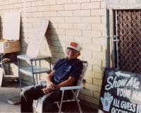 Dave the Guesser, Old Orchard Beach, ca. 1990