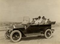 Knox Seven-Passenger Touring Car, Portland, ca. 1908