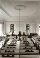 Sanctuary, Phippsburg Congregational Church, Phippsburg, 1962