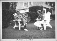 Charles Dana Gibson, Emmie Bailey Whitney, Islesboro, 1937