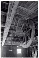 Hoist wheel, Union Wharf, Portland, 1962