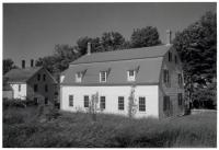 Shaker Meetinghouse, Sabbathday Lake, 1962