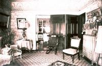 French House parlor, Houlton, ca. 1900