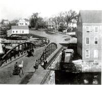 Iron bridge, Westbrook, ca. 1880
