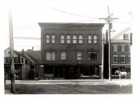 Post office, Westbrook, ca. 1900