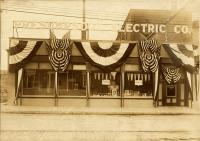Presumpscot Electric Company office, Westbrook, 1914