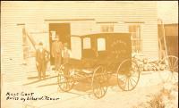 H. B. Drake Meat cart