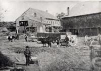 Sawmill, Pork Hill, Westbrook, ca. 1880