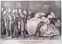 Abraham Lincoln's Deathbed Scene, ca. 1865