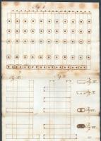 Morgan steam engine plans, ca. 1838