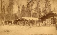 Delmont Emerson Logging Camp, Island Falls, ca. 1910