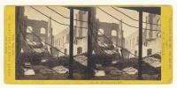 Portland City Hall interior after 1866 fire