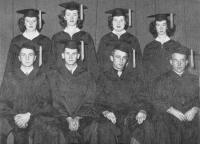 Brooklin High School Graduation Class, 1949