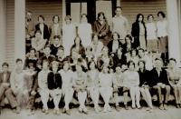 Brooklin High School student group, 1930